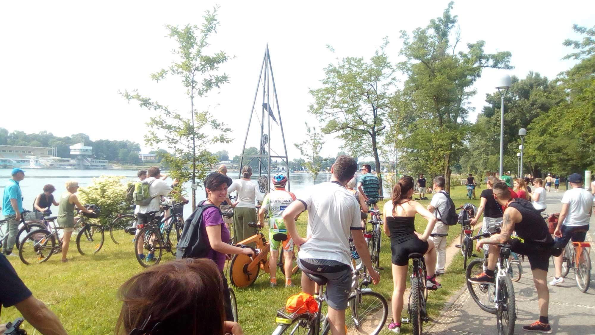 evento in biciletta