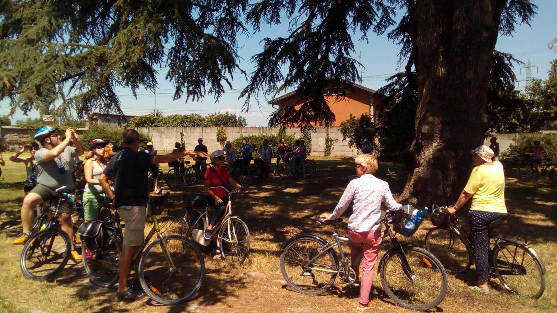 evento in bicicletta